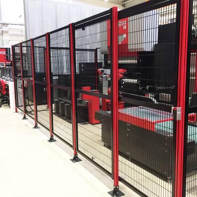 工厂防护围栏 车间用屏风隔断隔离网