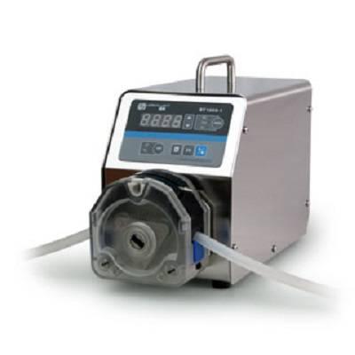 BT100S-1调速型蠕动泵 0.00016-570毫升/分钟 简易分装控制 485 保定雷弗
