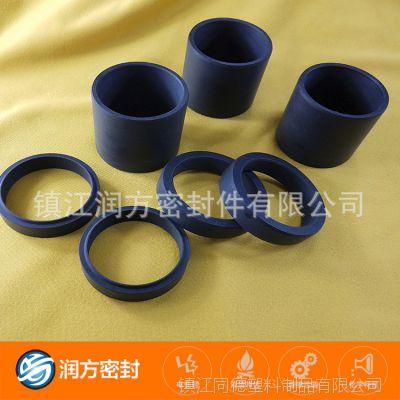 承接加工定制:碳纤维填充改性塑料王F4防尘圈、滑动轴承、支撑垫