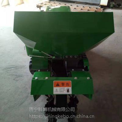 电启动的柴油耕地机 科博 葡萄园开沟施肥机 自动回填机