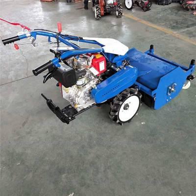 新款手推式灭草机 微型柴油果园灭草机