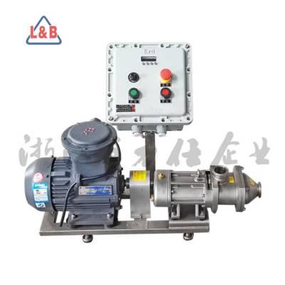 不锈钢卫生级奶油泵 双螺旋平行位移输送泵 高浓度物料输送泵