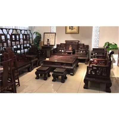 浙江红木家具-乾生宝红木私人定制-办公室红木家具