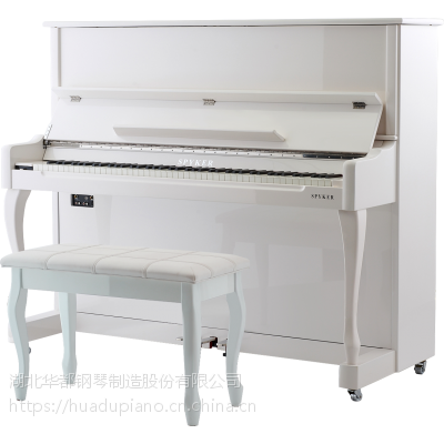 立式电钢琴代理spyker世爵88键重锤数码智能L123烤漆带缓降专业学习立式电钢琴