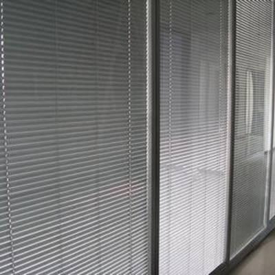 北京百叶窗帘订做会议室隔断铝合金百叶窗电动百叶窗批发厂家