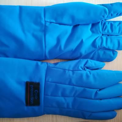 供应防液氮手套耐低温手套LNG站加气手套