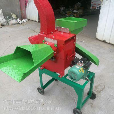 锤片式多功能铡草粉碎机 玉米秸秆揉搓机
