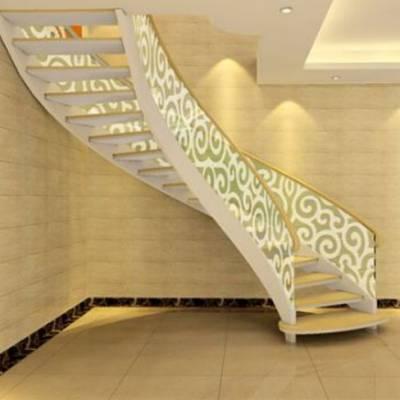 楼梯扶手装饰-楼梯扶手- 萧山美家楼梯制作(查看)