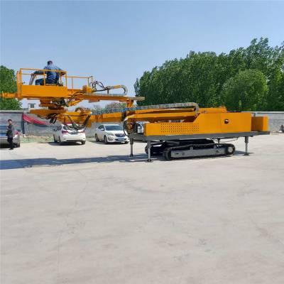 厂家定制遥控操作履带行走边坡支护锚杆钻机 履带行走基坑护坡锚索钻机水利工程机械
