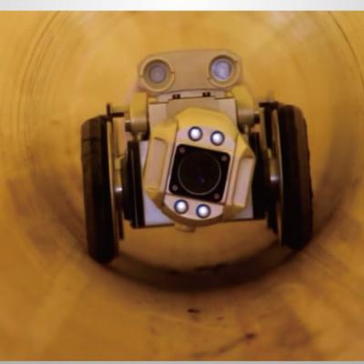 """高清CCTV管道检测机器人做个""""CT""""把脉城市地下管网"""