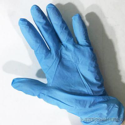 一次性劳保橡胶手套无粉麻面丁腈餐饮手套防油耐酸碱实验
