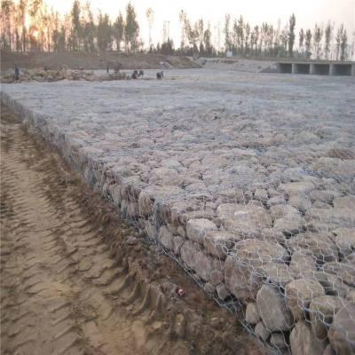 水库高镀锌石笼护坡