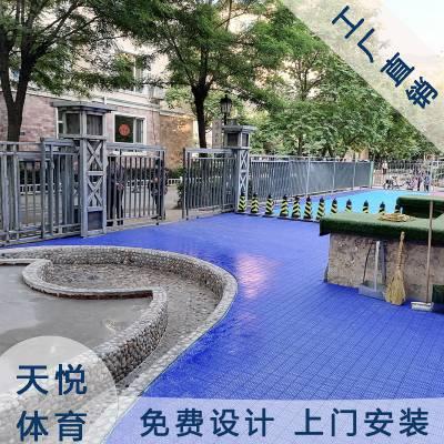 双层米格幼儿园悬浮地板,天悦幼儿园拼装地板批发,重庆塑料悬浮地板厂家