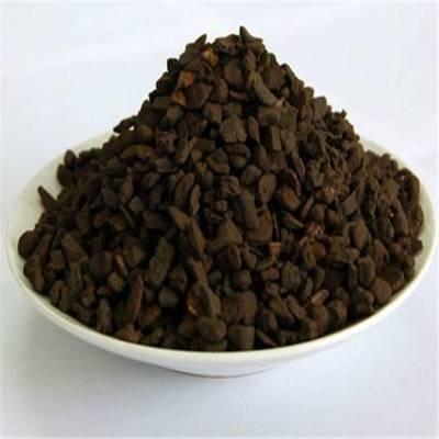 山东锰砂滤料 接触催化除铁除锰锰砂滤料