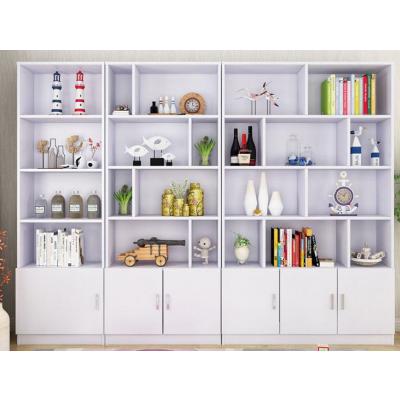 简约现代书柜 书架 展示柜 组合落地大书柜 置物架 办公收纳架 展示柜子 酒柜