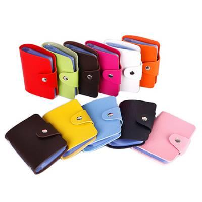 银行卡PU卡包 多卡位卡片包 NFC屏蔽卡套深圳定制批发