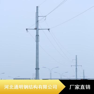 通明Q420B输电线路塔_热喷锌耐磨输电线路塔_18米输电线路塔现货