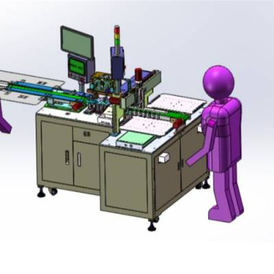 注射件自动摆盘机供应 迅驰 芯片自动摆盘机供应