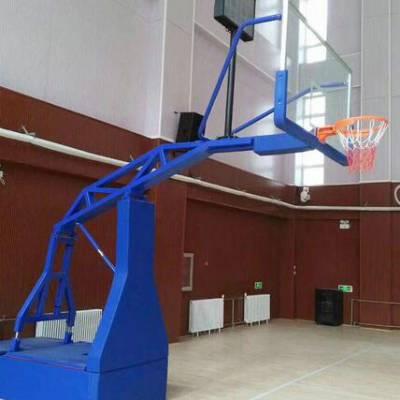 朝阳单臂篮球架价格 凹箱式篮球架厂家 可移动篮球架