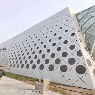 专业定做外墙氟碳铝单板厂家_欧百建材