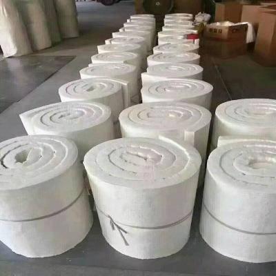 供应外墙阻燃甩丝硅酸铝卷毡质优价廉