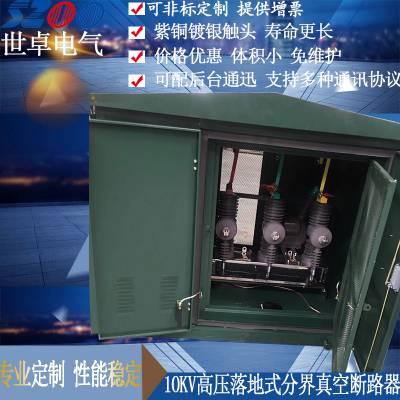 湖北荆州专用ZW32永磁落地式真空开关 10KV户外落地式断路器优质供应