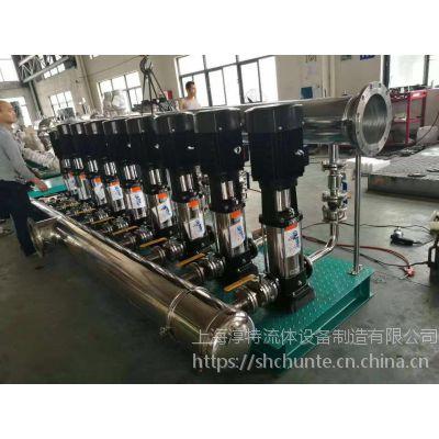 高中区不锈钢恒压供水设备/低区全自动变频恒压设备