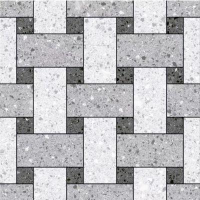 地砖规格_高档商超专用砖 拼花水磨石瓷砖600*600规格
