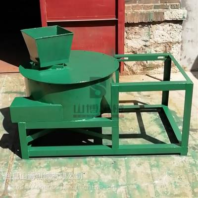 大产量立式鲜花生秧秸秆粉碎机 鱼饲料加工设备
