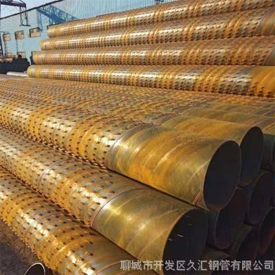 钢管井273mm*8厚壁实管 桥式滤水管机井钢管滤水管-品质优良