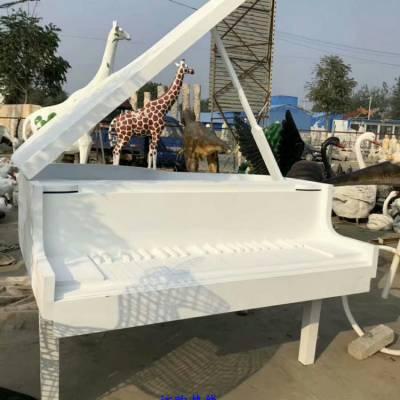 钢琴造型雕塑厂家 钢琴造型雕塑素材 钢琴造型雕塑效果图 景观摆件