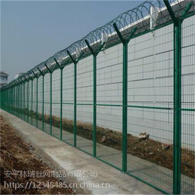厂家热销监狱护栏网 防攀爬 螺旋刀片刺绳网 防盗网