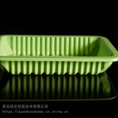 青岛生产各种吸塑托盘 透明PET水果盒 吸塑内衬 植绒吸塑