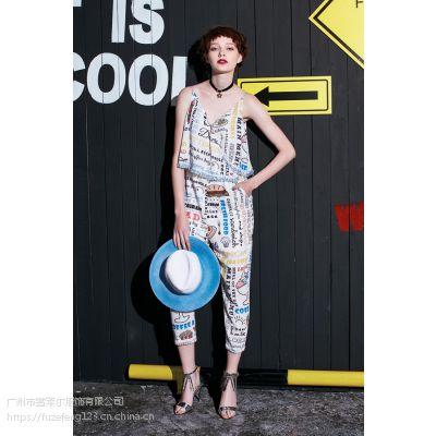 深圳时尚女装品牌折扣珈哒欧美潮流一手货源走份批发
