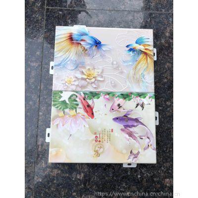 供应彩绘铝单板幕墙-3D印花铝板价格-艺术高清图案制作铝板厂家