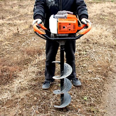 苹果树挖坑机手提式挖坑机/便携式打洞机/厂家直销