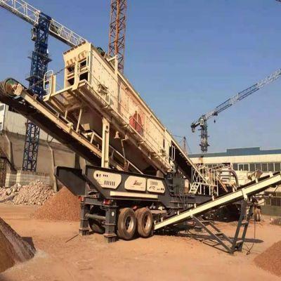 建筑垃圾处理生产线 移动碎石机 山东砂石骨料生产线厂家