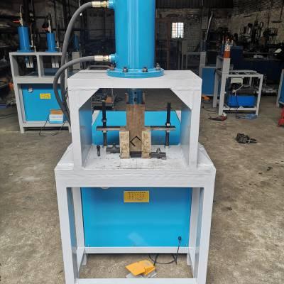 欣茂机械厂家直销 XM-C100 不锈钢方管冲孔机 货架冲弧机 槽钢切断机
