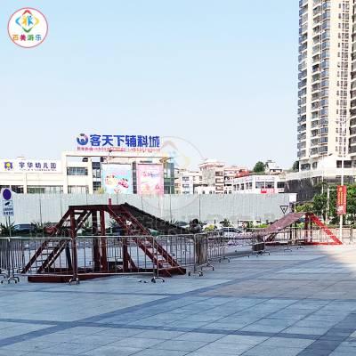 商场门口的移动网红桥大概多少钱能买到