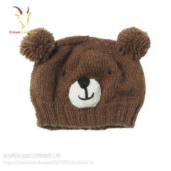 羊绒婴儿帽子