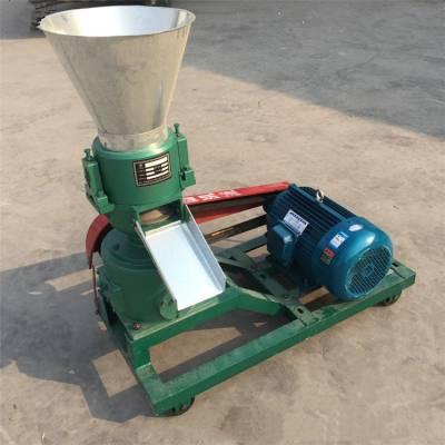 电动平模颗粒机价格 300型牛羊造粒机 草粉颗粒成型机