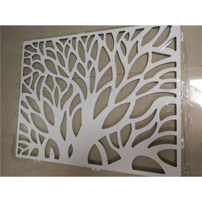 优质的雕花铝单板效果装饰案例