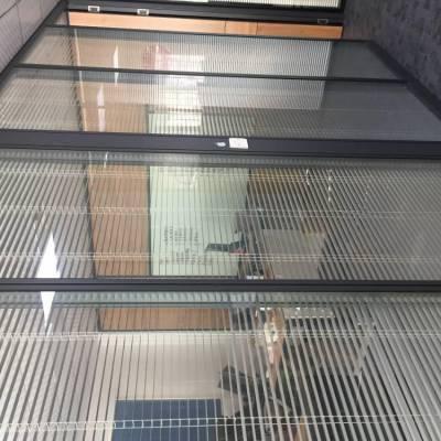 福田玻璃内置百叶隔断厂家免费测量设计安装