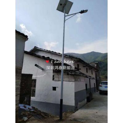 河南新乡15W小功率高光效太阳能路灯 鸿泰太阳能庭院灯厂家