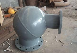 昊凯管道生产厂家-AL2O3双金属复合耐磨弯头