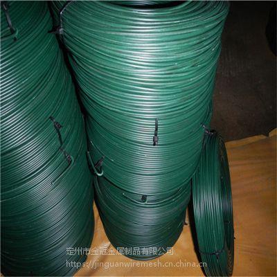 供应各种规格PVC涂塑丝 涂塑铁丝 耐用 抗腐蚀