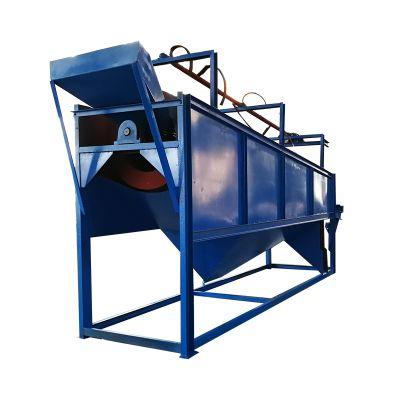 柏立松圆筒筛分机 型号1500*4500单层中心传动煤矿砂石场筛分