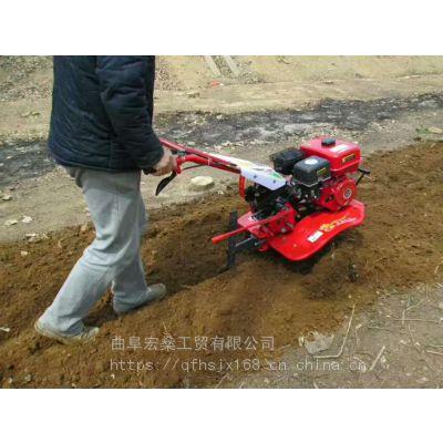 柴油大棚果园除草翻土机 小型柴油微耕机打田机