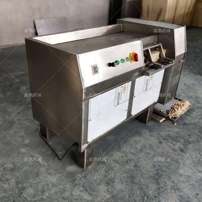 *** 中药切丁机 不锈钢切丁机 蔬菜切丝机设备 商用全自动切丝机