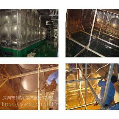 深圳南山区水池清洗消毒公司,南山水池一年不清洗有多脏?